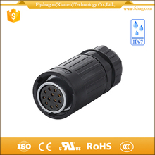 Trade Assurance 12 pin male and female plug Fast Delivery