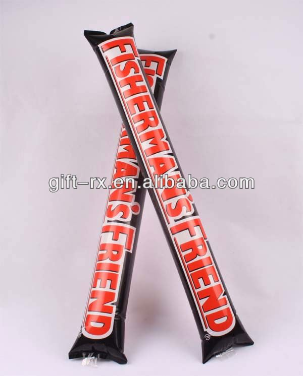 inflatable clapper sticks / concert cheering stick / LED bang stick