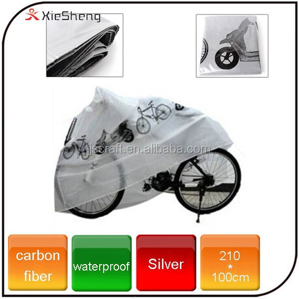 Outdoor Bike Rain and Dust Protector PE Cover Polyester Bicycle Cover