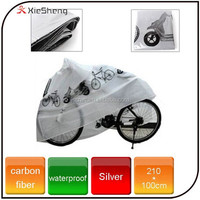 Outdoor bike rain and dust protector cover polyester bicycle cover