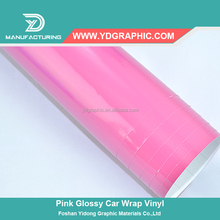 Starwrap Golssy color pink car wrap vinyl car body wrap