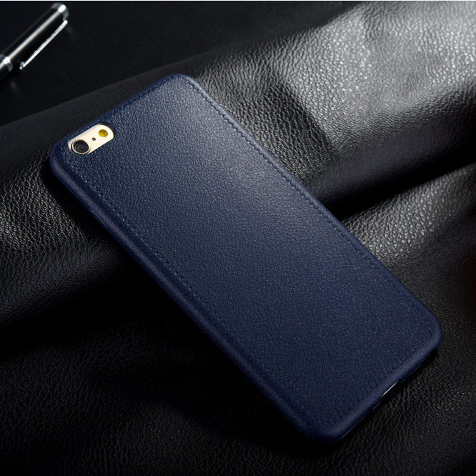2016 New Imitation leather TPU mobile phone case for iPhone 6 / 6S 4.7 / 5.5