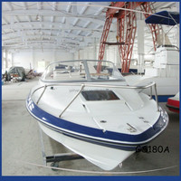 Gather New Technology Made In China Wholesale Speed Boat With Cabin