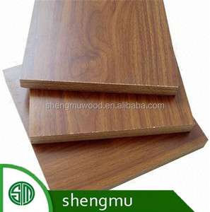 white laminated commercial melamine plywood sheet from China supplier