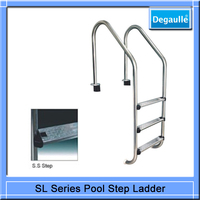 2015 hot sale factory price best quality China Cheapest Pool Super Ladder,Folding Step Ladder
