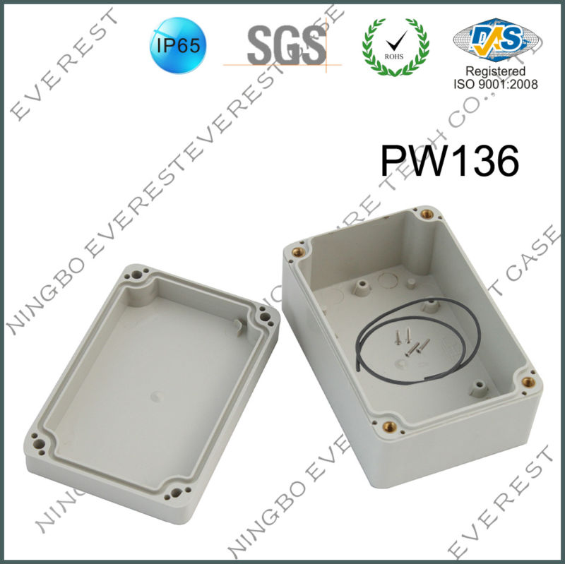 outdoor using plastic waterproof housing box electronic enclosure