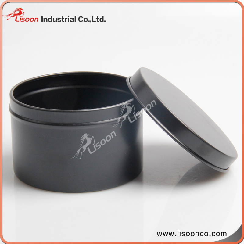Aluminum can for hair wax, small metal tin containers for hair wax