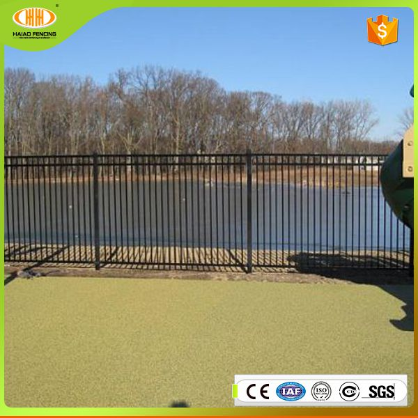 hot sales alibaba china solid pvc wrought iron metal garden fence panels