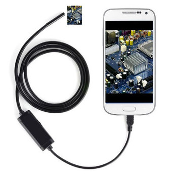 New 2M Android OTG Endoscope 7mm Mini Waterproof Borescope Inspection Tube Pipe Camera For phones (DW-A2M)