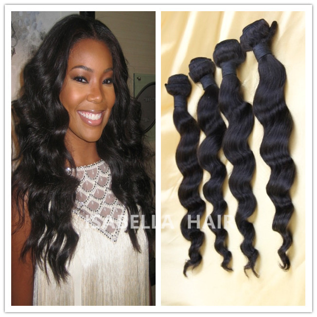Overseas Queen Like Brazilian Hair Loose Wave Bundle Weave