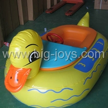Hot sale kids inflatable battery aqua water plastic bumper boats for pool for sale
