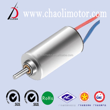 36000rpm 1mm 4.1v CL-0820 Coreless Mini Motor for mobile phone,circuit board, small electrical toys