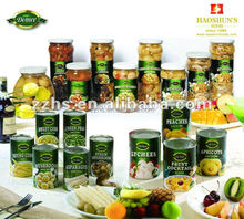 Canned Mix Vegetable Canned Food Factories Pickled and Seasoned