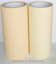 Customized package natural rubber glue masking tape