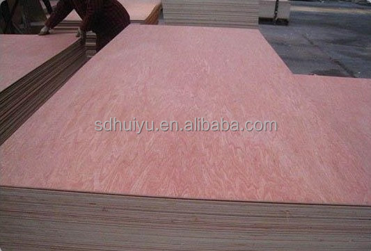High Quanlity plywood for furniture from China supplier 12mm Commercial plywood