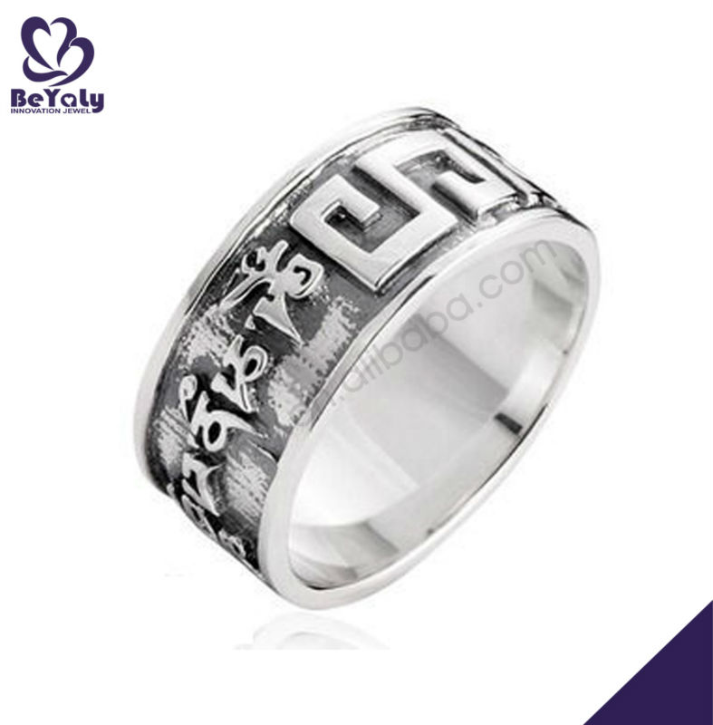 wholesale costume jewelry silver wedding rings mens
