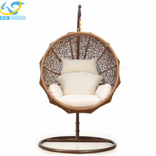 2017 Leisure Indoor Swing for Adults Garden Patio Cane Swing Chair