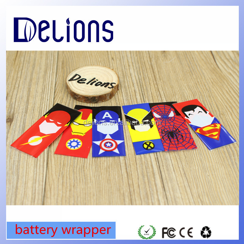 Newest coming Alibaba cheap electronic cigarette DIY Vaper Battery wrapper for 18650 Batteries packaging best review