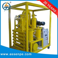 portable high vacuum transformer oil dehydration and filtration system plant