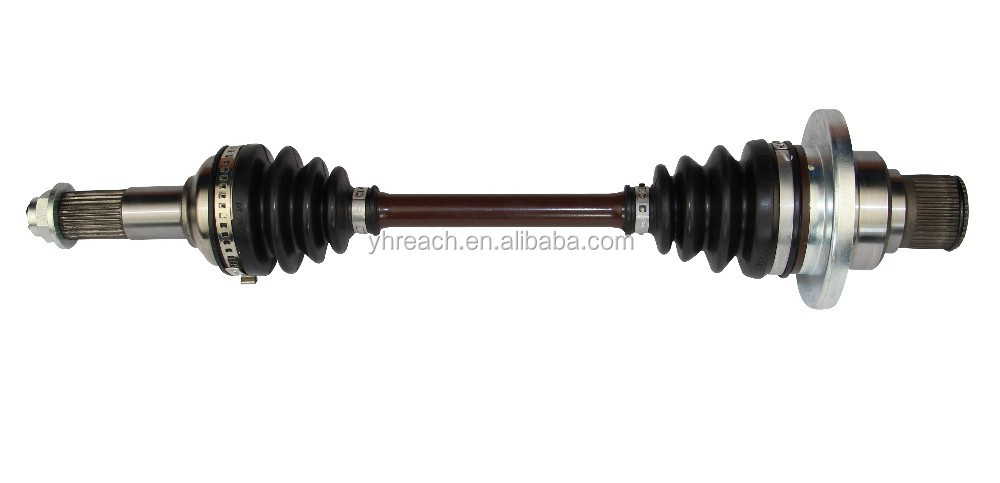 Atv Front Axle Assembly : Hisun atv axle utv front rear shaft