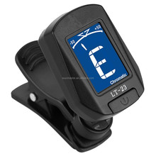 Mini Clip OEM Guitar Pedal Machine Tuner Built In Guitar Tuner