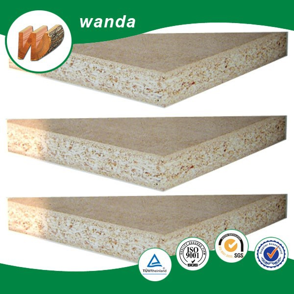 melamine laminated particle/chip /flake board