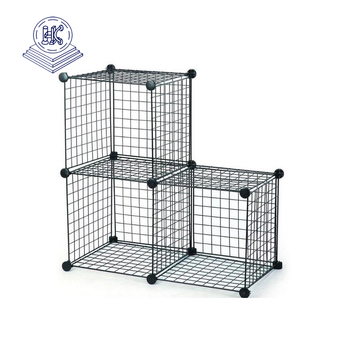 metal wire mesh storage basket