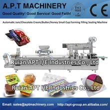 Automatic Jam/Chocolate Cream/Butter/Honey Small Cup Forming Filling Sealing Machine