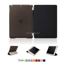 For iPad Case, PU Leather Case With Sleeping Function for iPad 2/3/4