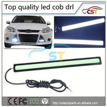 Wholesale Hottest model 17cm 12v Led Cob Car Auto Drl Driving Daytime Running Lamp Fog Light White 12w