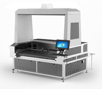 1.8m 2 heads Large Vision Laser Cutting machines for fabric sublimation textile cutting