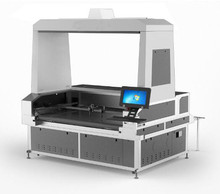 2 heads fabric laser cutter machine for sublimation textile cutting
