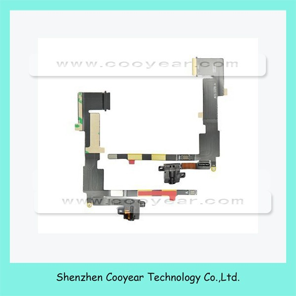 Original NEW 3G Version Headphone Jack Audio Jack Flex Cable and Sim Card Reader Slot Socker for Apple iPad 2