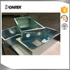 Steel metal sheet metal fabrication metal case with zinc plating