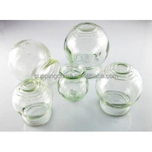 Traditional Chinese Strong Glass Cup Jar-5 size glass cupping set cupping massage therapy