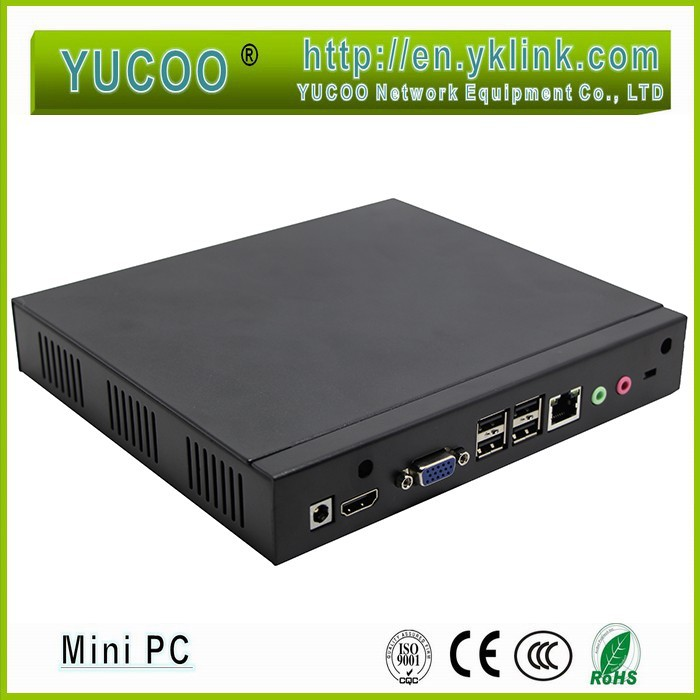 Super fan Hot selling mini PC with Intel Celeron 1037U dual core 1.8GHZ processor