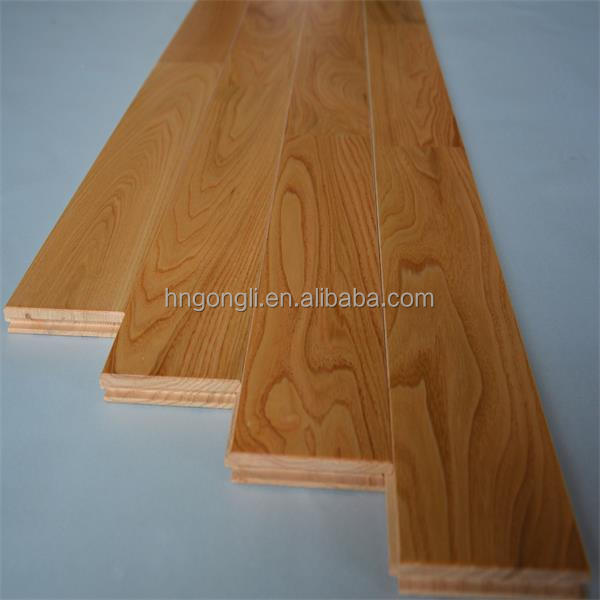 Solid Wood & Multilayer Engineered Chestnut Flooring with Natural color