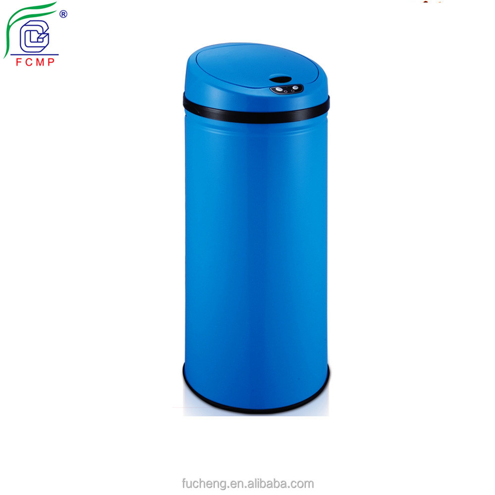 large size automatic stainless steel eco sensor dustbin for home recycling sensor bin