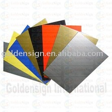 Goldensign ABS double Color Sheet manufactory