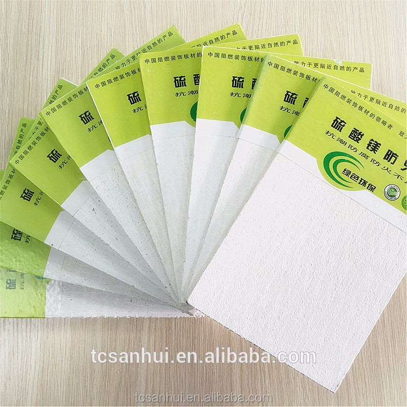 High qualiy low price MgO fireproof insulation board