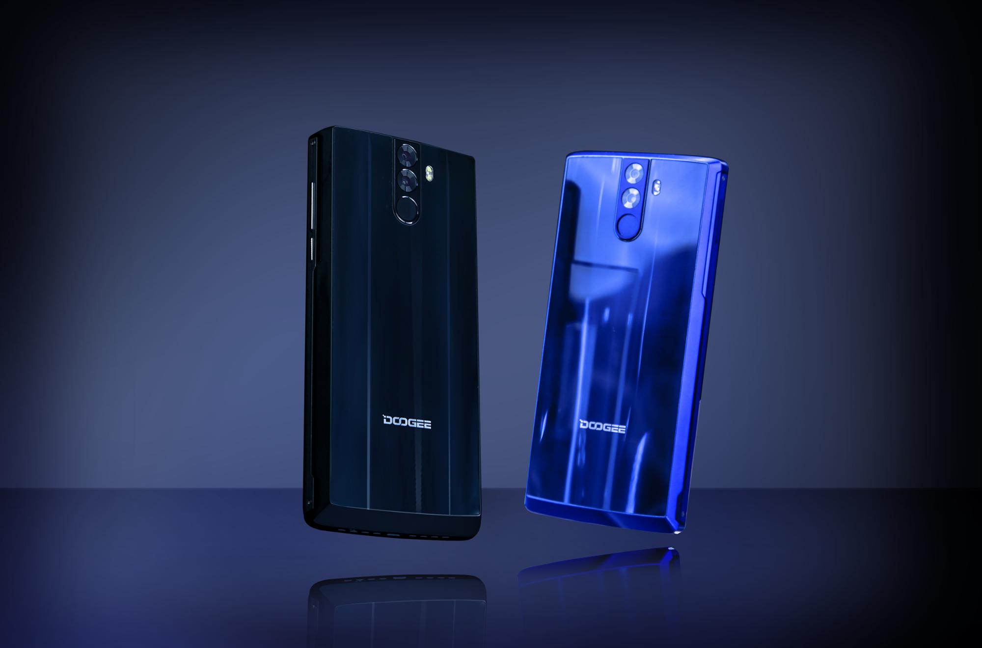 6Inch Screen Doogee BL12000 4GB RAM 16.0+13.0MP Rear Camera 16.0+8.0MP Front Camera B20 Band Multi-language Black Blue