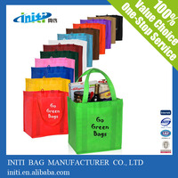 thermal shopping bag/ 2014 Reusable Eco non woven reusable thermal shopping bag