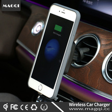 2017 Hot Sale MAGQI Car Charger Mobile Wireless Charger qi Standard