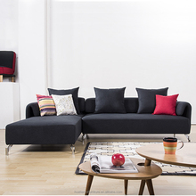 Wholesale couch living room furniture metal legs sectional fabric sofa set designs