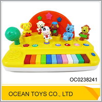 Musical baby battery operated cartoon toy keyboard OC0238241