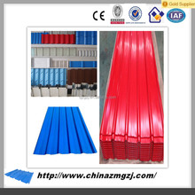 low price metal building materials corrugated steel roofing sheet with color coated
