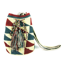 Wayuu Mochila Bag, handmade, 100% cotton bag