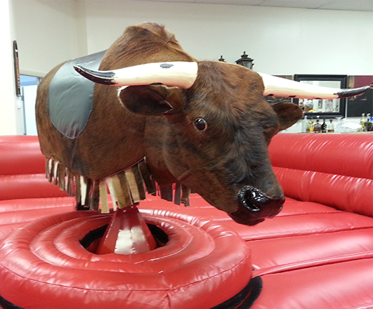 New hot sale inflatable mechanical bull Mechanical bull for sale