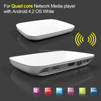 Quad Core Android tv box-the xbmc media player Google 4.0 4.2.2 4.4 Network Full HD 1080P WIFI HDMI Smart TV Box