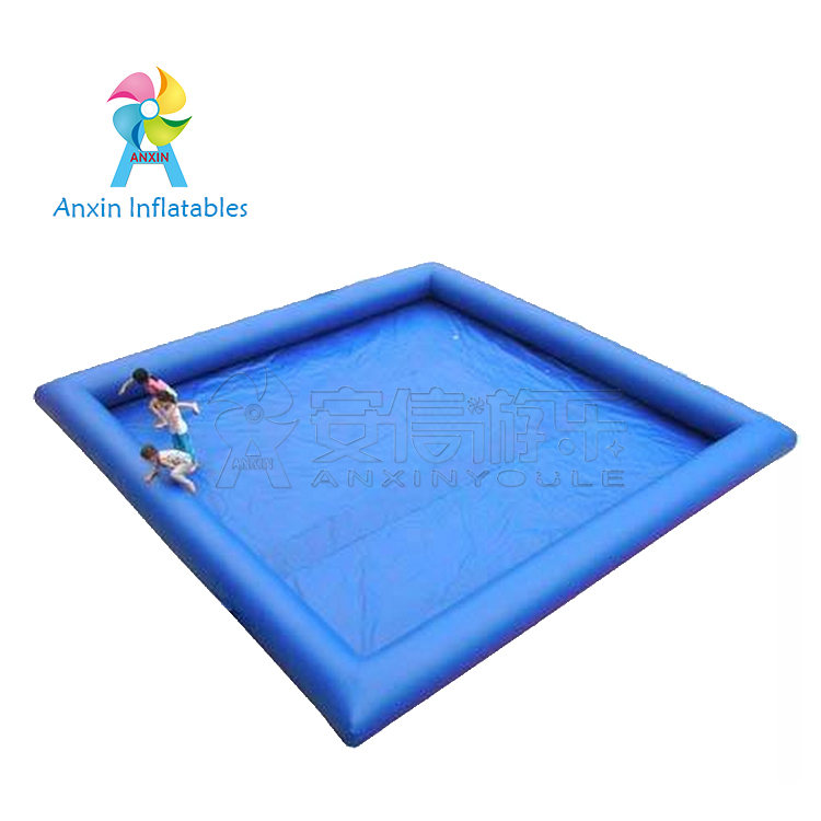 Large adult size 25m plastic inflatable swimming pool